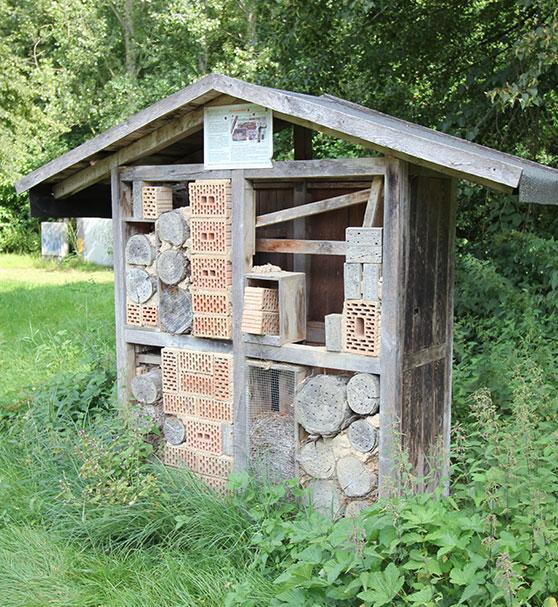 QuellGARTEN Lichtenau – Insektenhaus