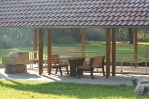 Quellgarten in Lichtenau. Ausflugsziel für Familien.